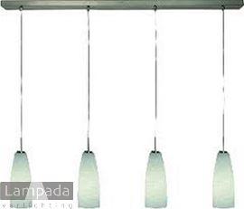 Afbeelding van hanglamp valenso 4-l rvs 1100647
