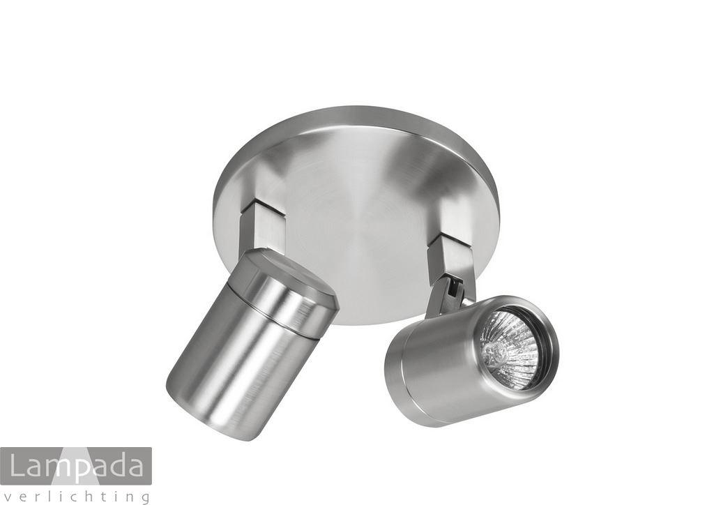 Opbouw Spots Rvs Ip44 13s0016 Lampada Verlichting