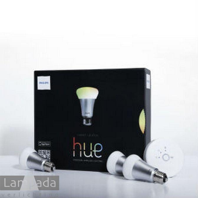 philips hue rgb color set 1419837 lampada verlichting. Black Bedroom Furniture Sets. Home Design Ideas