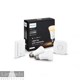 Afbeelding van PHILIPS HUE LAMP WARM2DIM SET 1420659