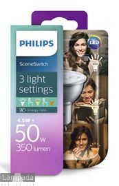Picture of PHILIPS 3 STANDEN LED GU10 1700396