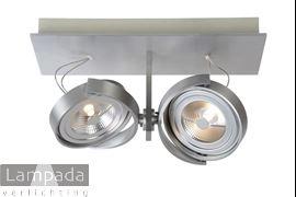 Afbeelding van SPECTRUM SPOT LED 2-L ALU 4601233