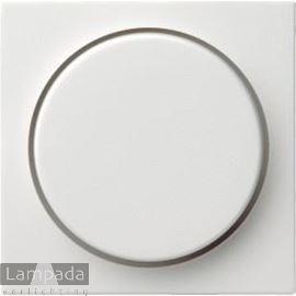 Afbeelding van knopset voor gira wit 5850446